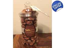 Cinnamon Roasted Nut Jars: Almonds / Hazelnuts / Mixed