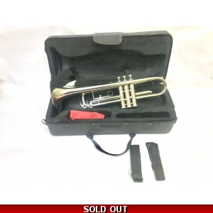 Slade Bb trumpet with case and mouthpiece