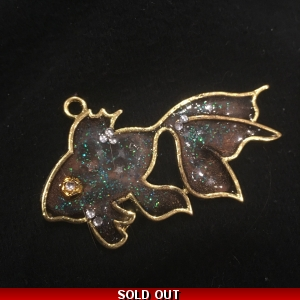 Galaxy Goldfish Pendant