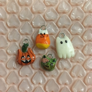 Halloween Cat Charms