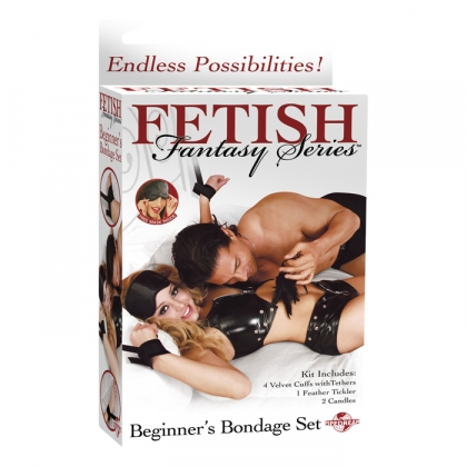 Fetish Fantasy Beginner's Bondage Set Black