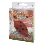 Love Bug Ticklers – Red/Black Lady Bug