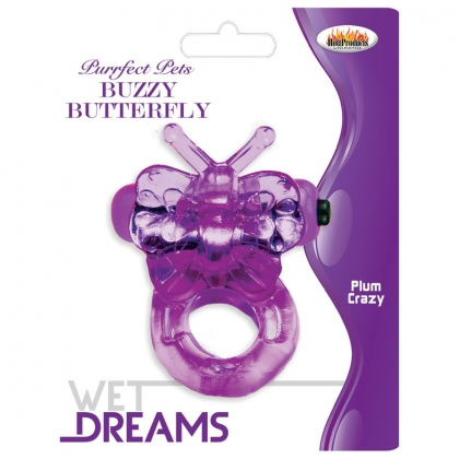 Buzzy Butterfly - Purple