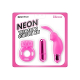 Neon Vibrating Couples Kit
