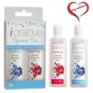 Oralove Delicious Duo Warming & Tingling