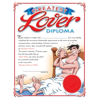 Greatest Lover Diploma ..