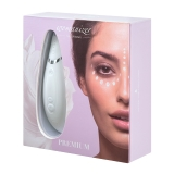 Womanizer Premium - White/Chrome