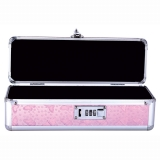Small Lockable Vibrator Case - Pink