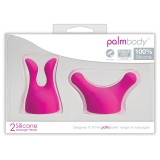 Palm Body Attachments - 2 Silicone Heads