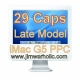 29 Capacitors Kit Apple iMac G5 Motherboard Capacitors Kit PPC iMacs