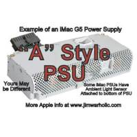 A Style Apple iMac G5 Power Suppl..