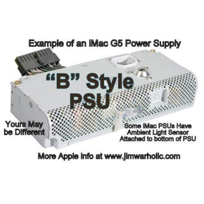 B PSU Apple G5 iMac Power Supply Capacitors Kit B Style