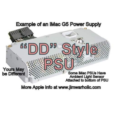 DD PSU Apple G5 iMac Power Supply Capacitors Kit DD Style