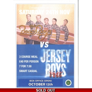 Beach Boys vs Jersey Boys