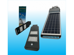 SOLAR POWER  AND LED STREET LIGHT