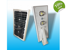 STREET LIGHT W/ SOLAR ENERGY INDUSTRIAL GRADE