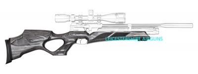 Weihrauch airgun stock for sale.