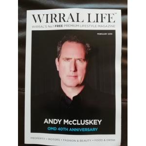 Wirral Life Magazine Posted to Europe