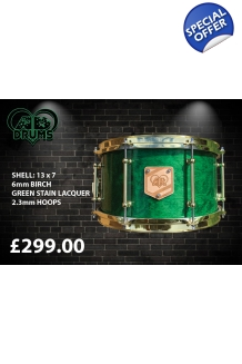 AD Drums Green Stain with Gl..