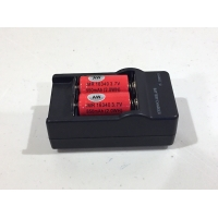 AW IMR 16340 Battery and Charger Combo
