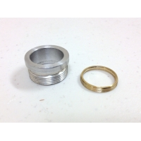 Drilled Driver Pill & Brass Ring