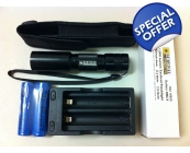 Survival Laser 1,000 Lumen Flashlight w/Accessor..