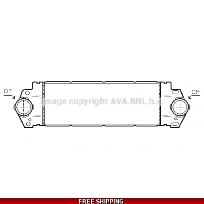 7H0145804A,B,  VW, T5, INTERCOOLER