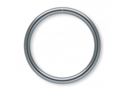 Gunmetal Plated Seamless Nose or Ear Hoop