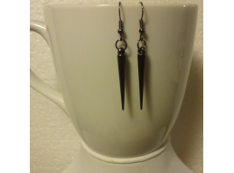 Spike Dangle Earrings in Small, Medium and Large Spikes with Color Options
