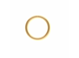 12k Gold-Filled Seamless Nose or Ear Hoop available in 6mm, 7mm, 8mm, 9mm and 10mm