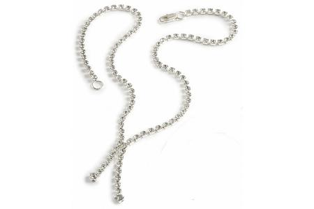 729baf376b894 Crystal Two Strand Drop Necklace - In Swarovski Crystal