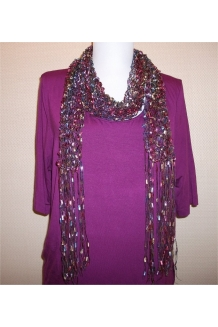 Pink Multi Scarf