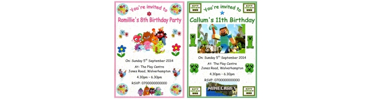 Children's Birthdays