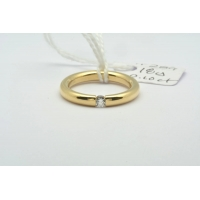 18ct yellow band