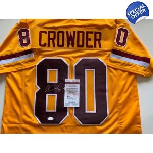 312320bd8df Jamison Crowder autographed .