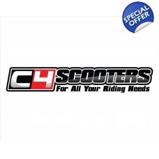 C4Scooters Sticker