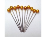 antique gold hair pins