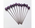 aubergene hair pins