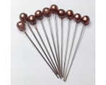 bronze hair pins