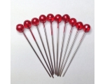 cherry hair pins