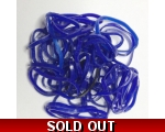 dark blue hair elastics