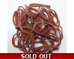 Dark Brown Hair elastics