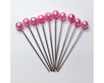 fushia hair pins