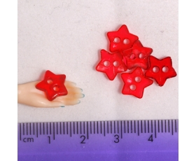 Large Clear Light Red Stars