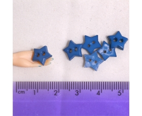 Large Denim Stars
