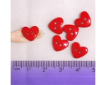 Large Dark Red Hearts