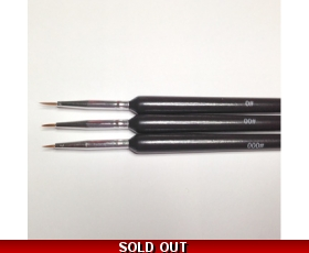 3 Paint Brushes