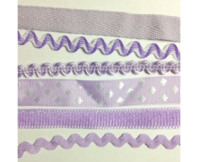 purple trims
