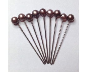 taupe hair pins
