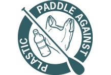 Womens Paddle Against Plastic Tee